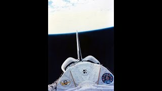 STS-61-A Flight Day 7 (NO COMMS)