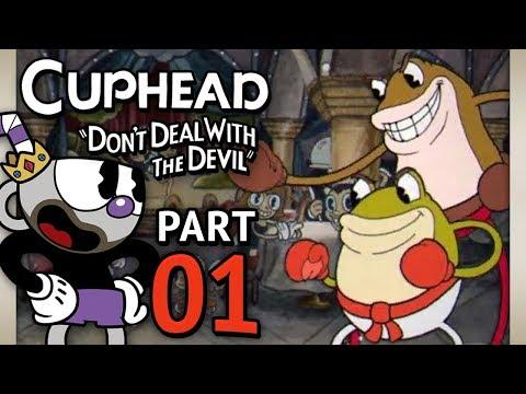 Cuphead Let's Play w/ TheKingNappy! - Ep 1