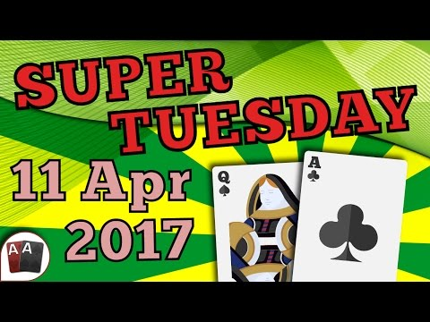 [11 April 2017] PokerStars SUPER TUESDAY Final Table Replay (Cards-Up) | Series Player