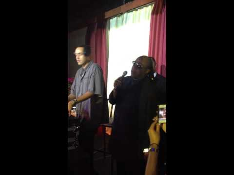 Stevie Wonder Rocks the Mic - National Urban League After Party July 29, 2012