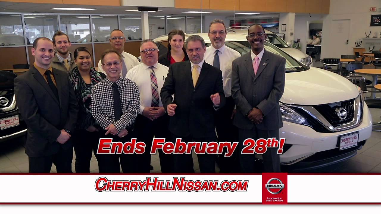 cherry hill nissan - presidential savings - youtube