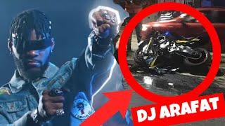 DJ ARAFAT victime d'un grave Accident de Moto | PRIINCE TV
