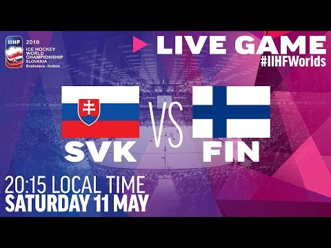 Slovakia Vs. Finland | Full Game | 2019 IIHF Ice Hockey World Championship