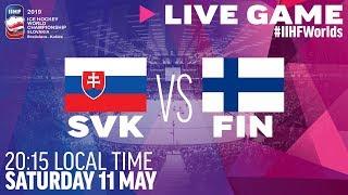Slovakia vs. Finland | Full Game | 2019 IIHF Ice Hockey World Championship