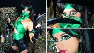 Mortal Kombat: Jade Character Makeup and Costume!