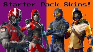 Ranking *EVERY STARTER PACK SKIN* in Fortnite: Battle Royale!