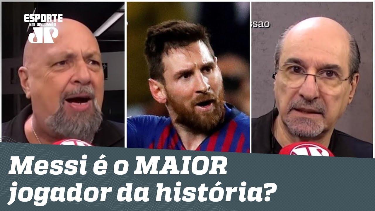 Afinal: Messi passou Pelé e é o MAIOR jogador da HISTÓRIA?