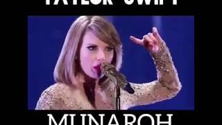 Taylor shift sing munaroh