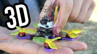 IMPRIMIENDO un micro drone en 3D
