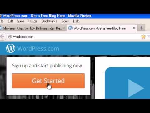 Cara Membuat Blog Baru di Wordpress