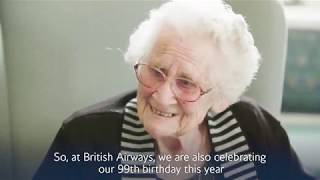 British Airways: From one 99-year-old to another…