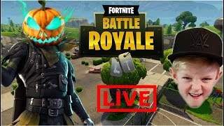HOLLOWHEAD SKIN DUOS FORTNITE BATTLE ROYALE GAMEPLAY // CONSOLE PLAYER LIVE STREAM