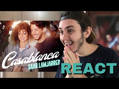 BRAZILIAN REACTS TO Saad Lamjarred - CASABLANCA (EXCLUSIVE Music Video)