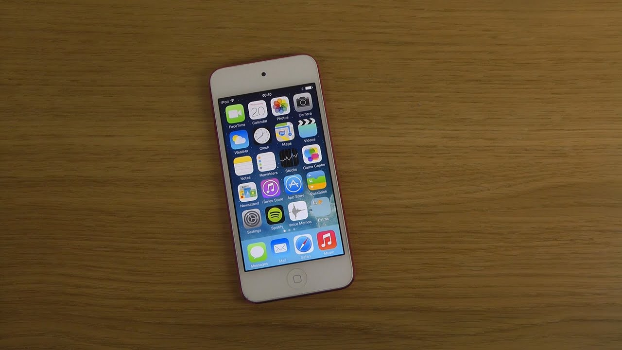 Ipod touch 5 ios 7 1 beta review youtube for Housse ipod touch 5