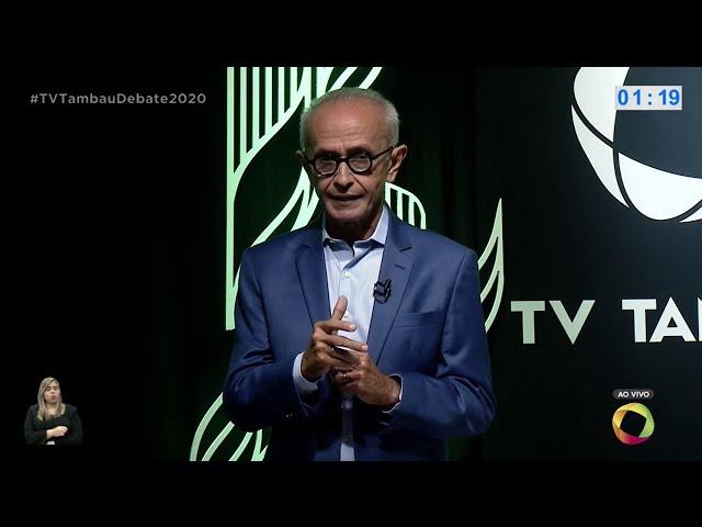 Tambaú Eleições 2020: Debate entre Cícero Lucena e Nilvan Ferreira - Bloco 2 - 26 11 2020