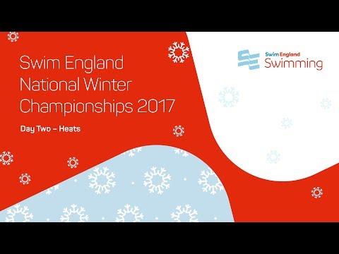 Swim England National Winter Championships 2017 - Day 2 Heats