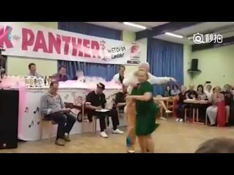 Grandpa and grandma in Germany can dance!