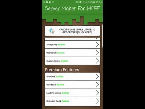 Server Maker For Minecraft PE Free Download