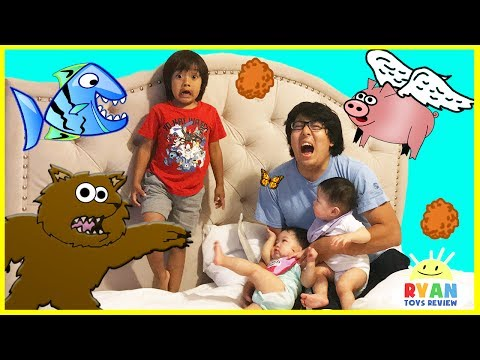 Thumbnail: FUNNY DISASTER SURVIVAL Family Fun Kids Pretend Playtime with Twin Babies