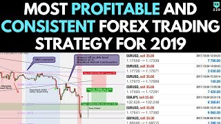 Most PROFITABLE and CONSISTENT Forex Trading Strategy (2019)