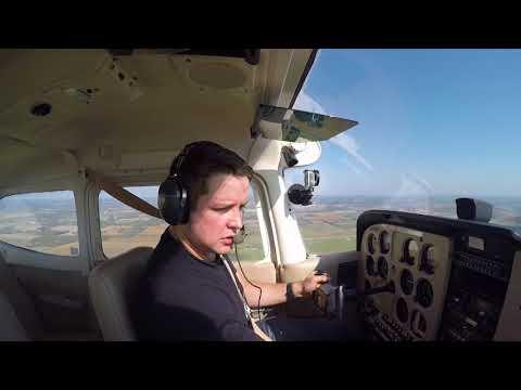 My First Solo Flight   Cessna 172M Skyhawk   Markham Airport (CNU8)   CTAF Audio