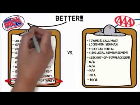 MCA SCAM OR NAH Motor Club Of America - MCA - Compared To AAA!