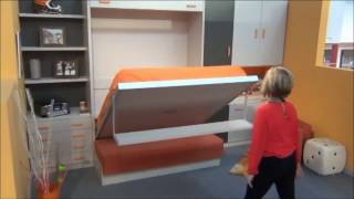 Gambar cover IDEAS PARA DECORAR UN DORMITORIO CON SOFA-CAMA ABATIBLE. MUEBLES PARCHIS