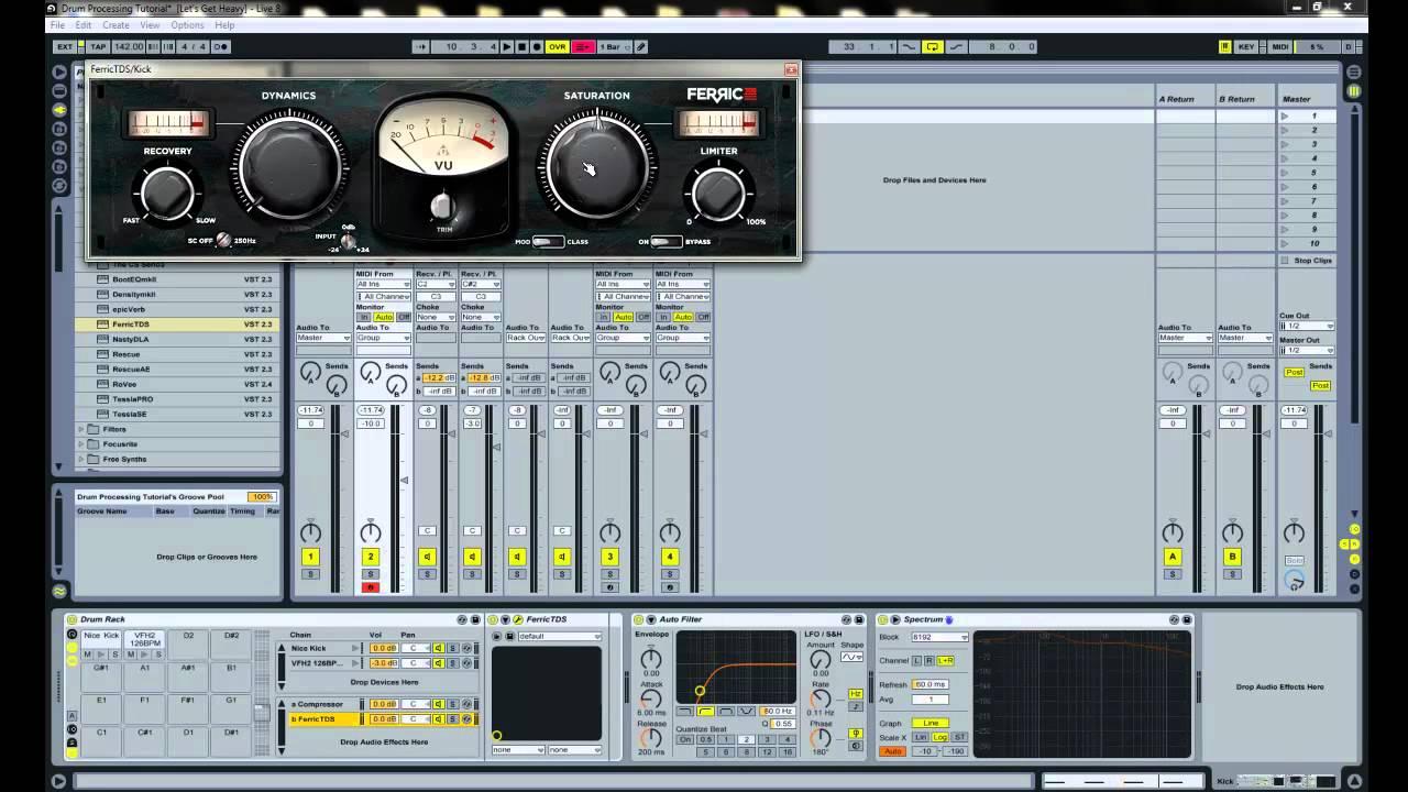 ableton live dubstep tutorial fat punchy kick drum youtube. Black Bedroom Furniture Sets. Home Design Ideas