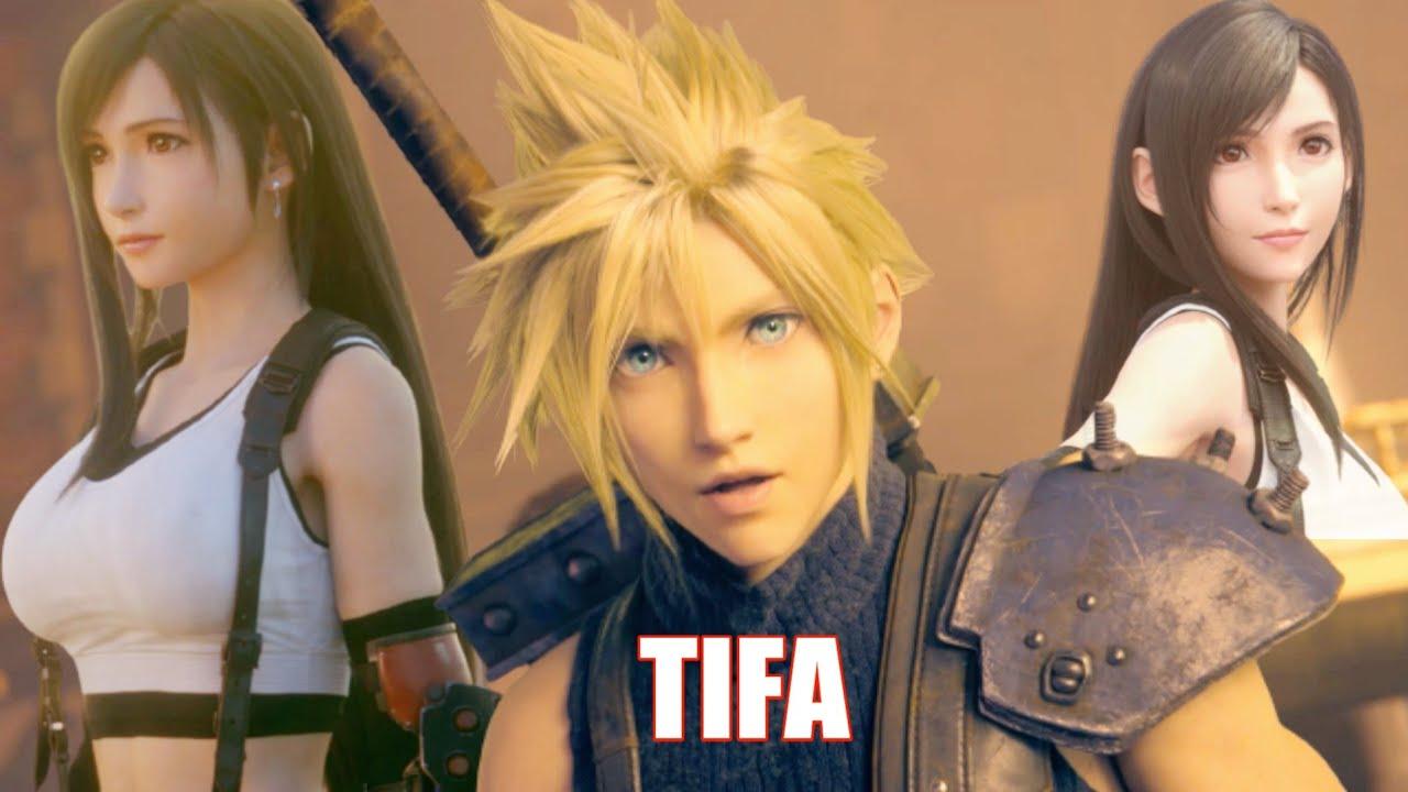 Cloud Saying Tifa in Japanese DUB - Final Fantasy 7 Remake Cloud Tifa