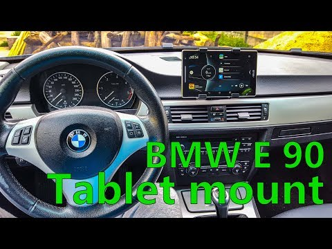 How I Did The Tablet Mount For BMW E90. Cheap And Easy!