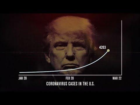 """Trump PANICS, Tries to Scrub """"Coronavirus Hoax"""" Clips"""
