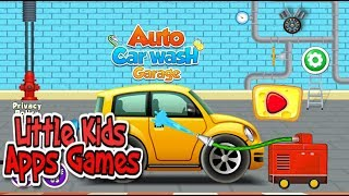 Kids Car Wash Games | Wash Different Kinds of Vehicle and Gas Up for Ride