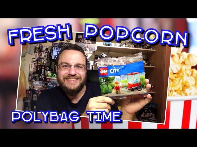 Fresh Popcorn!  :-) – Lego City Popcorn Cart (Polybag 30364)