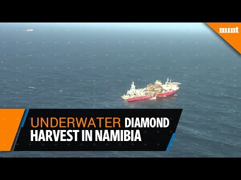 Off Namibia, an underwater diamond harvest