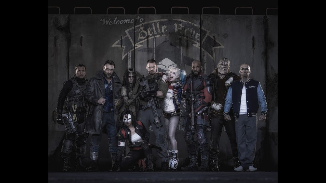 Ομάδα Αυτοκτονίας (Suicide Squad) - Comic Con First Look (Gr Subs)