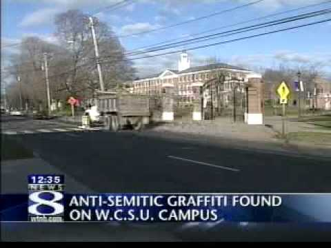 Swastikas found at college in Danbury Part 2