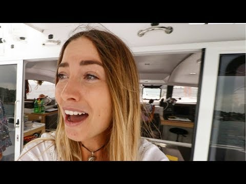 A MARRIAGE PROPOSAL!!! Onboard the Yacht!!! (Sailing La Vagabonde)  Ep. 111