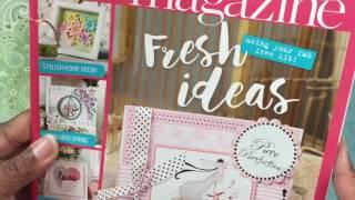Crafter's Companion Magazine flip through