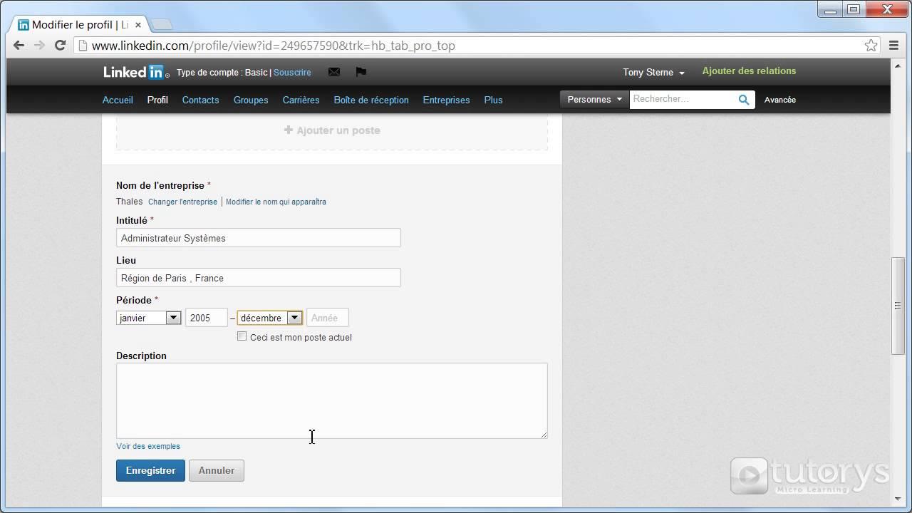 comment compl u00e9ter les informations de son cv avec linkedin