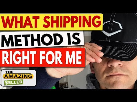How Do I Choose The Right Shipping Method to Fit My Amazon FBA Business? TAS 406: The Amazing Seller