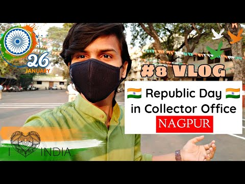 Republic Day In Collector Office, Nagpur | Daily vlogs | DDvlogs