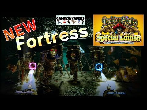 DeadStorm Pirates Special Edition Fortress Mission Coin Op Shooter (2 Player)