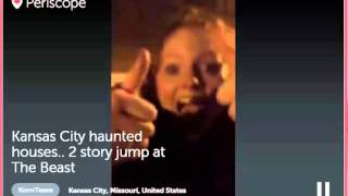 Kansas City Haunted House 2-Story Beast Jump