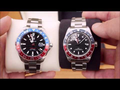 Tag Heuer Aquaracer GMT & Tudor Black Bay GMT - Review & Comparison!