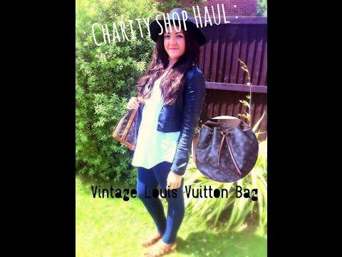 Charity Shop Primark Haul | And My Vintage Louis Vuitton Bag