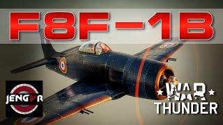 War Thunder Realistic: French F8F-1B [Jet Killer!]