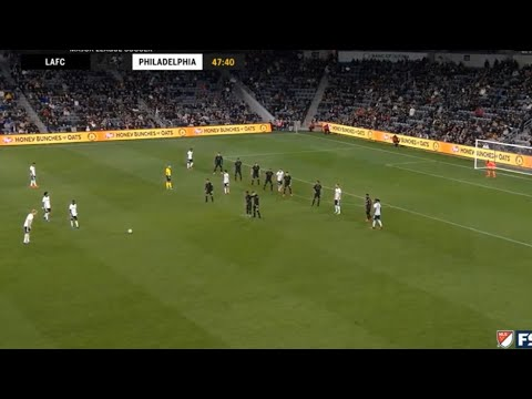 Jakob Glesnes Long Distance Free Kick Goal for Philadelphia Union 08/03/2020