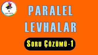 Paralel Levhalar Soru Çözümü -1 | AYT Fizik