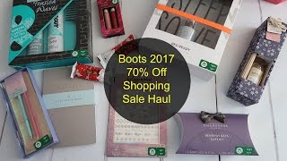 Boots 2017 70% Off Sale Haul