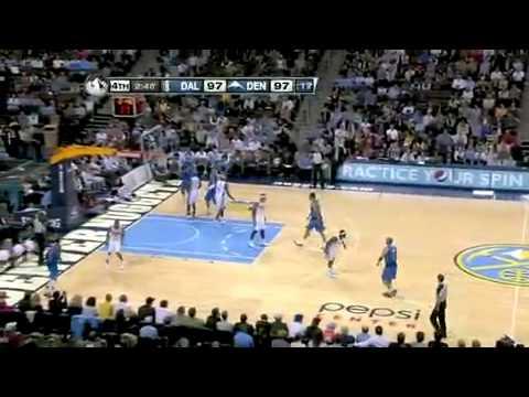 NBA Dallas Mavericks Vs Denver Nuggets Game Recap 11/03/2010.mp4